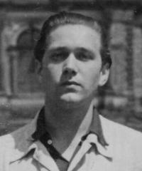 Vladimír Janoušek a photo of that time