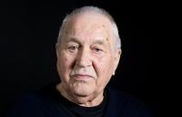 A portrait of Vladimír Janoušek