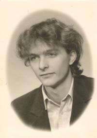 Martin Štainer, the student