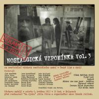 invitation to Nostalgická vzpomínka exhibition