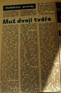 propaganda report about Z. Jelínek