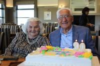 Bohuš and Marie Úlehla celebrating his 90th birthday, Melbourne 2017