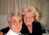 Bohuš and Marie Úlehla in the Czech Club, North Melbourne 1989
