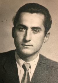 Bohuš in Austria 1952