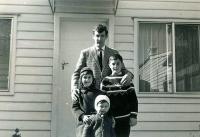 Four children of Marie and Bohuš Úlehla, Melbourne 1969