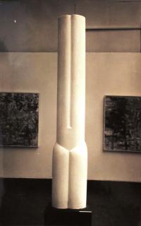 Father's sculptural work