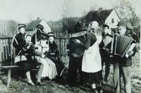 Carnival in Kobyle over Vidnavka