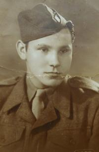 Uncle Karel Arabaš in the Czechoslovak army during the First Republic