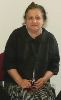 Judit in a meeting