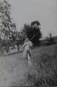 Lev Havlíček in childhood