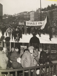 Velvet Revolution in Karlovy Vary