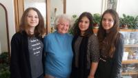 Student team with Eva Dědková