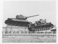 The Tanks at Dukla pass – a memorial