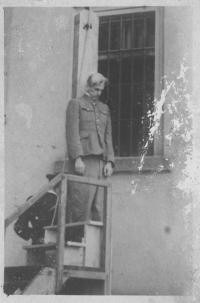Executed K.H.Frank, Prague after the war