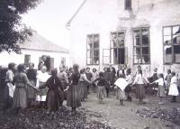 The school in Tuří Remety, 1930s