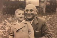 Milan with his grandfather