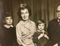 Mother with grandparents