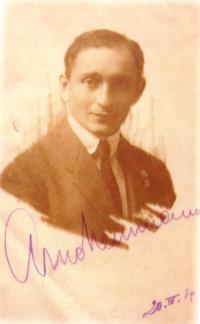 Arnold Neumann, father. 1919