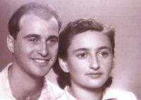 Wedding photograph, Israel 1949