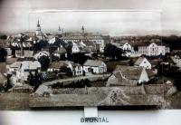 city of Bruntál - one of the places where Vincent Dorník criminal military service was performed (1950)