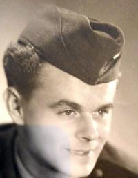 Ladislav Zošák - photo from criminal military service (1951)