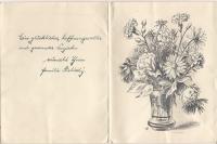 9b. Dopis Pály do koncentračního tábora panu Hnátkovi
