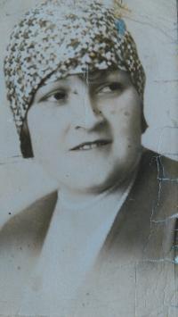 Libuše Lacinová's mother