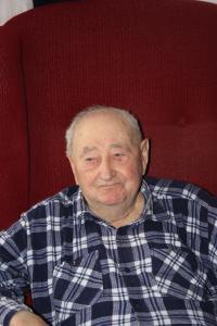 Josef Lesný, 99-ti letý v době pořízení fotografie