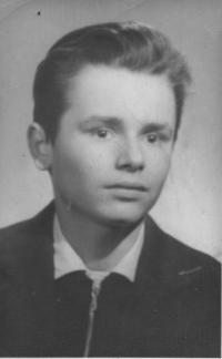 syn Zdeněk v 15 letech