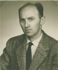 Mikuláš in Bratislava, about the end of the 1950s