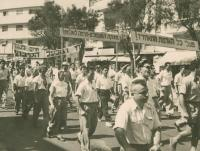 May Day in Tel Aviv, about 1954
