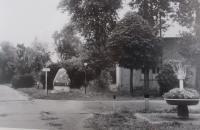 01_Karlsfeld, oblast Mnichova, tábor při návštěvě 1968