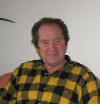 Husband Miroslav Hampl in 2009