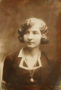 Mother Emilie Hajná (Stránská)