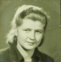 Evženie Hajná (Hamplová), c. 1950