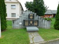 Monument to the victims of the World Wars in Zborov