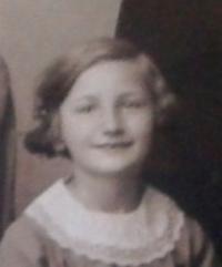 Jiřina Fořtová 1933