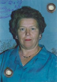 Franjica Poznik ID picture, 1990's