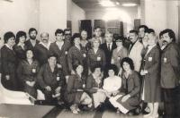 Workplace, shop Borovo Novi Sad1, arround 1980