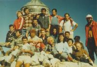 Mountain top Triglav, Mountaineering sport society -Zeleznicar, Novi Sad,  1983