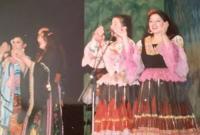 "Bożena Paczkowska with ""Roma"" in early 90's"