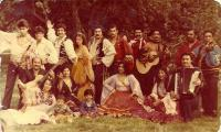 "The Gypsy Song and Dance Band ""ROMA"" in 90's"