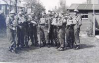 Home Guard, Newcastle, in England, father Jan Mucha, 1943