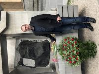 At the memorial to victims of the brutally suppressed demonstration in Tbilisi on April 9, 1989, April 2018
