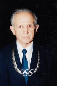 J. Zachara awarded by The Silver Olympic Order, 2012