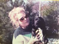 Růžena Zahradníčková in Germany 1978