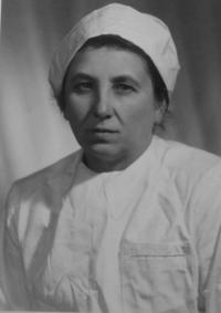 Aunt Marie Jurková - the sister of her mother