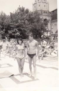 Honeymoon, Balaton 1963