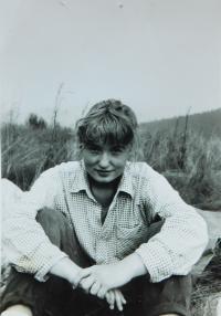 Dana Krejčí (Foukalová) v roce 1987
