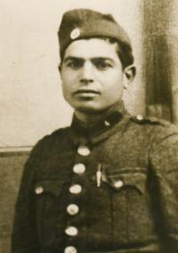 Moisis Stambolidis, Eleni's father, at around 1943